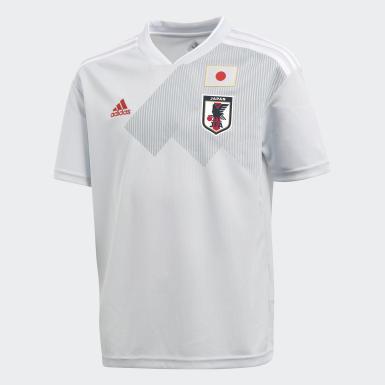 Гостевая игровая футболка сборной Японии
