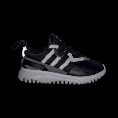 Sapatos Originals Flex Preto Criança Originals