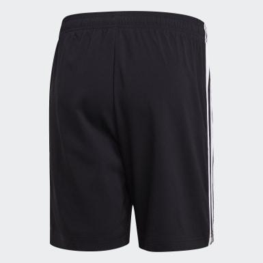 Männer Athletics Essentials 3-Streifen 7 Inch Chelsea Shorts Schwarz