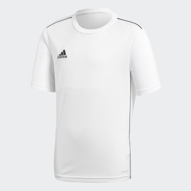 Camiseta entrenamiento Core 18 Blanco Niño Training