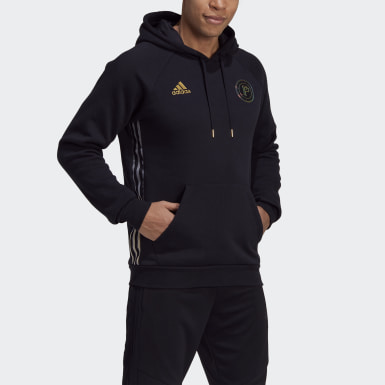 Men Football Black Paul Pogba Hoodie