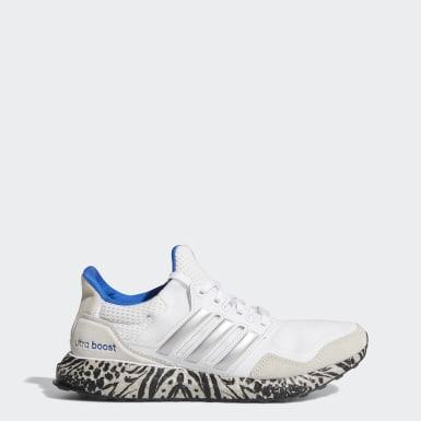 Women Running White Ultraboost DNA Shoes