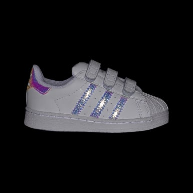 Barn Originals Vit Superstar Shoes