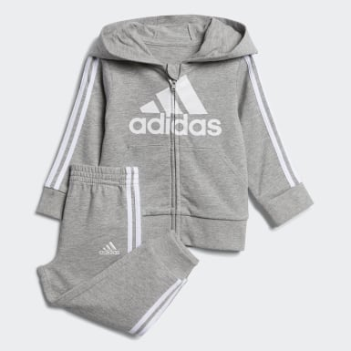 Infant & Toddler Training Grey Essentials French Terry Hoodie and Jogger Set