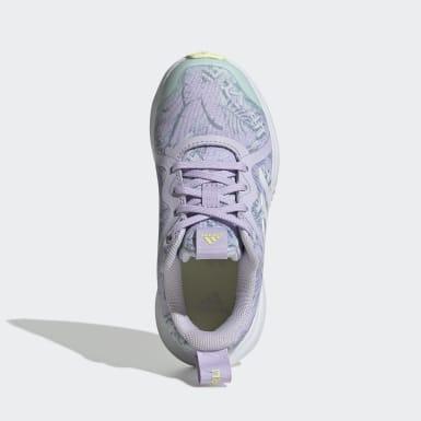Children Running Purple FortaRun X Shoes