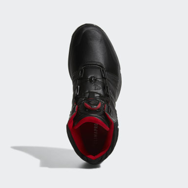 Men's Golf Black Climaproof Boa Shoes