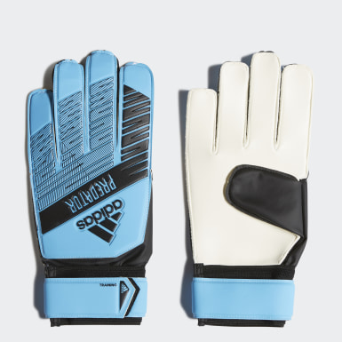 Football Blue Predator Training Gloves
