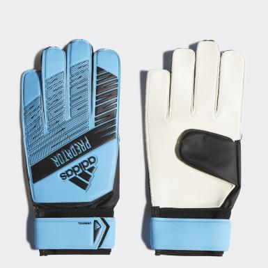 Football Turquoise Predator Training Goalkeeper Gloves
