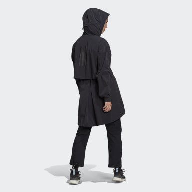 Women City Outdoor Black MYSHELTER WIND.RDY Parka