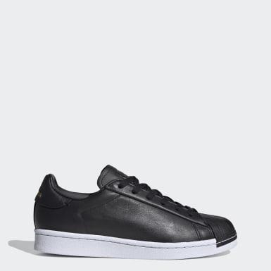 Women's Originals Black Superstar��Pure Shoes