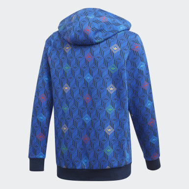 Sudadera con capucha Azul Niño Originals