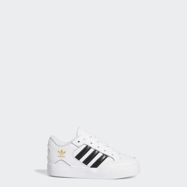 Chaussure Hardcourt Low blanc Bambins & Bebes Originals