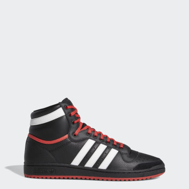 adidas Originals Kvinner svart Høye joggesko TOP TEN HI