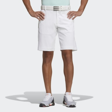 Men Golf White Shorts