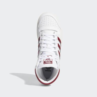 Youth Originals White Top Ten Hi Shoes