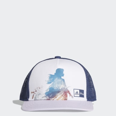 Kids Training White Frozen Cap