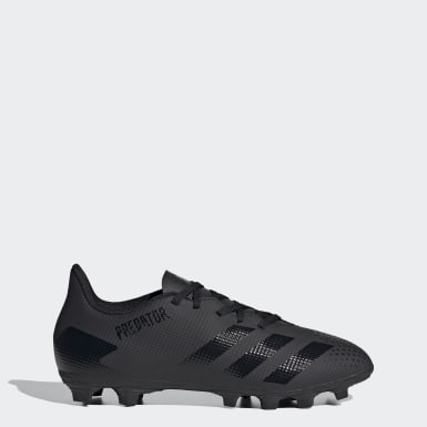 Men Football Black Predator 20.4 Flexible Ground Boots