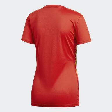 Jersey Spain Home Replica Rojo Mujer Fútbol