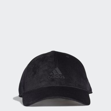 Velvet Baseball Caps Svart