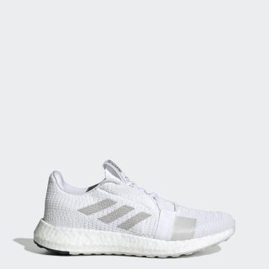 ผู้หญิง วิ่ง สีขาว รองเท้า Senseboost Go