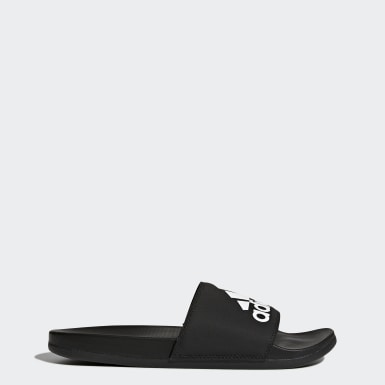 Swimming Black Adilette Comfort Slides