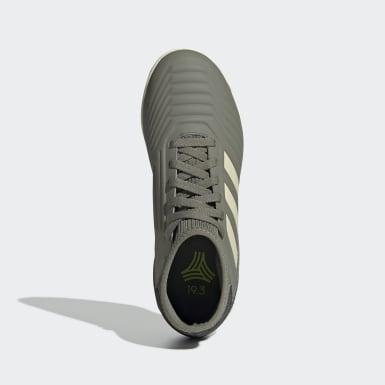 Børn Fodbold Grøn Predator Tango 19.3 Indoor støvler