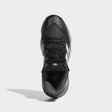 Women Basketball Black Harden Stepback Shoes