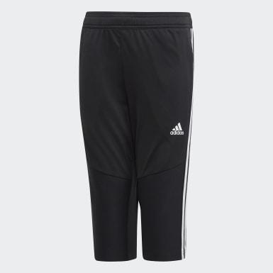 Pantalon 3/4 Tiro 19 noir Adolescents Soccer