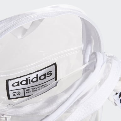 Training White Clear Festival Crossbody Bag