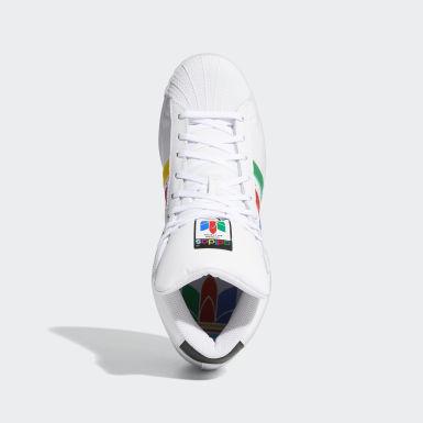 белый Высокие кроссовки Pro Model