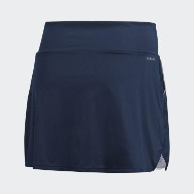 Women Tennis Blue Club Skirt