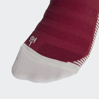Arsenal Home Socks Bordowy