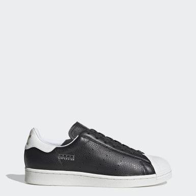 Originals Siyah Superstar Pure Ayakkabı