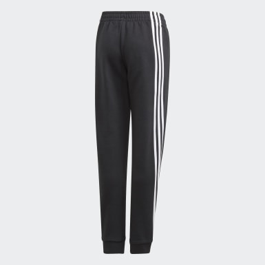 Girls Lifestyle 3-Stripes Tapered Leg Pants
