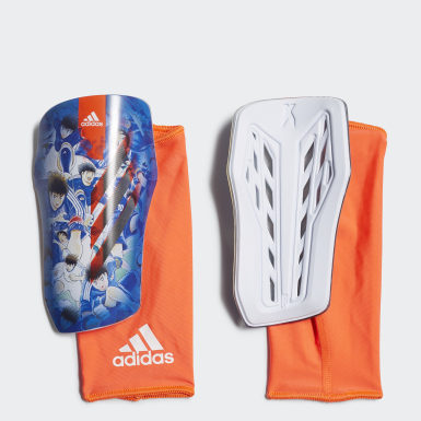Fußball X Captain Tsubasa League Schienbeinschoner Weiß