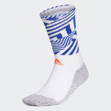 Men Golf White Sports Socks