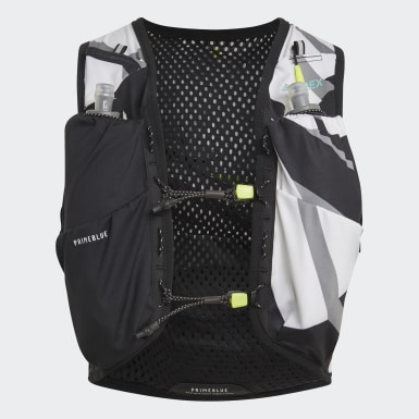 City Outdoor Black Terrex Primeblue Graphic Trail Running Vest
