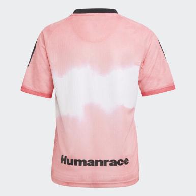 Kinderen Voetbal Roze Juventus Human Race Voetbalshirt