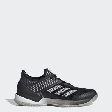 Sapatos Adizero Ubersonic 3.0 – Terra batida Preto Mulher Tênis De Padel