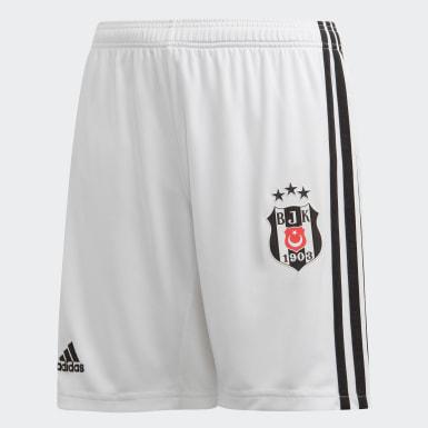 Genç Futbol Beyaz Beşiktaş JK İç Saha Şortu