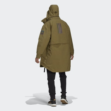 Männer City Outdoor MYSHELTER 4IN1 Parka Grün