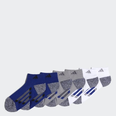 Vertical Stripe Low-Cut Socks 6 Pairs