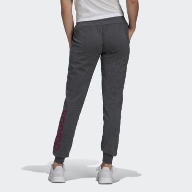 Pantaloni Essentials Linear Grigio Donna Athletics