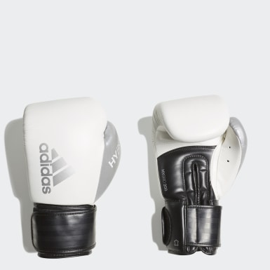 Gants de boxe Hybrid 200 Blanc Boxe