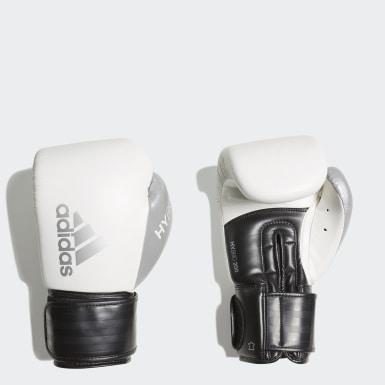 Guanti da boxe Hybrid 200 Bianco Boxe