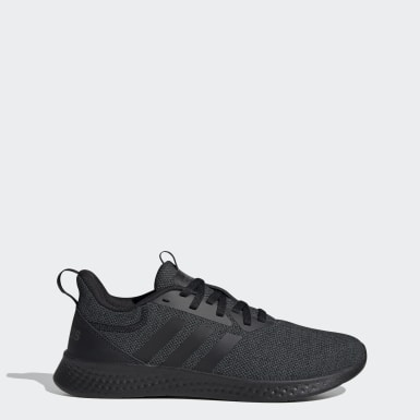Men Running Black Puremotion Shoes