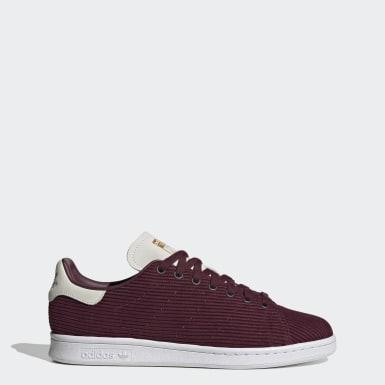 Men's Originals Burgundy Stan Smith Shoes