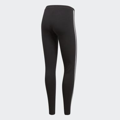 Calzas 3-Stripes Negro Mujer Originals