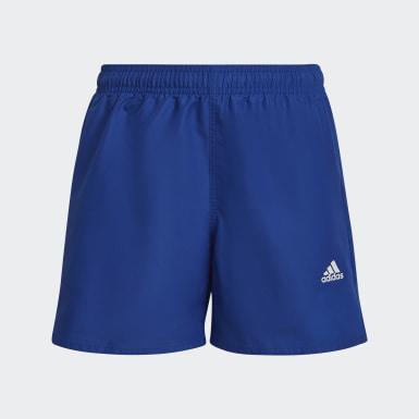 Kluci Plavání modrá Plavecké šortky Classic Badge of Sport
