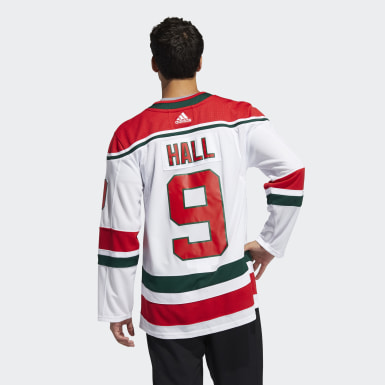 Men's Hockey Not Defined Devils Hall Home Authentic Jersey